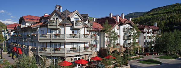 Sonnenalp Hotel in Vail, CO