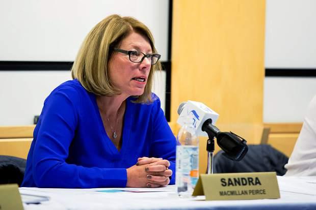 Sandra Peirce - Photo by Jeremy Wallace/The Aspen Times